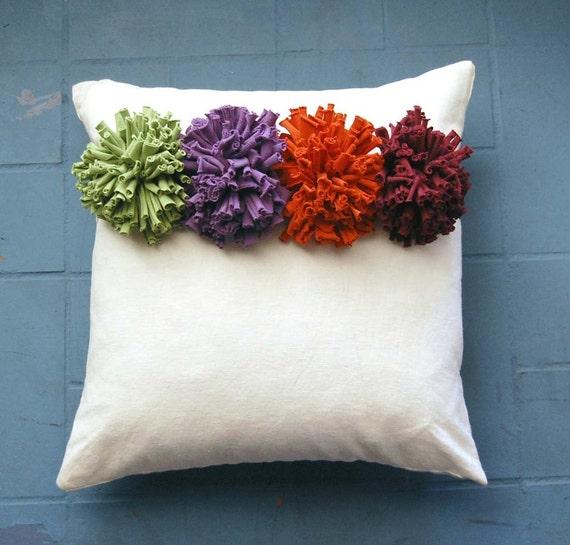 Chrysanthemum Flower Pin/Brooch - Custom Color - Choose Your Own