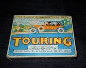 Vintage Card Game Touring  Parker Brothers 1926