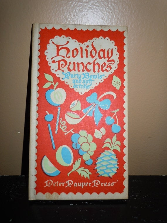 Peter Pauper Press Holiday Punches 1953
