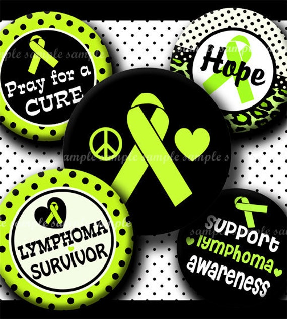 Instant Download Lime Green Lymphoma Awareness By
