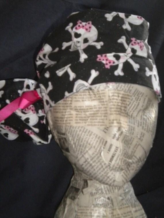 Pony Tail Scrub Hat