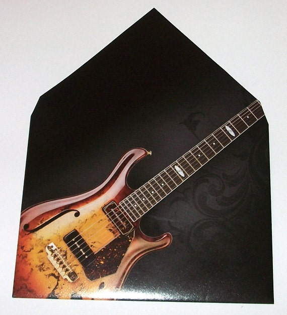 brown and tan guitar envelope