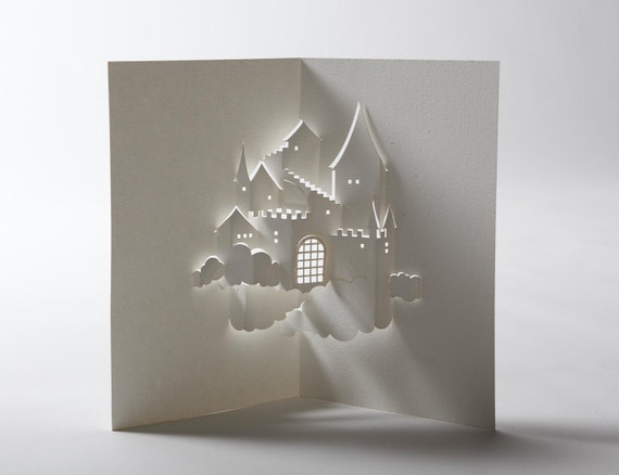 Castle in the Sky Pop-Up Card