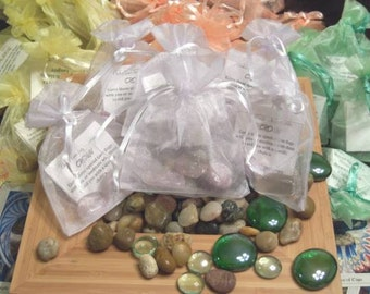 Gemstone Bag for Crown Chakra - Activate, Heal, Cleanse, and Balance