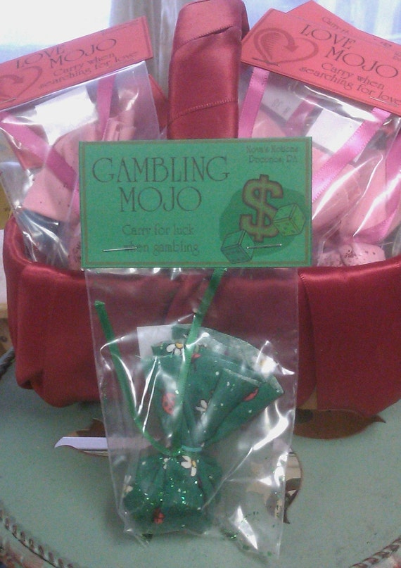 Gambling mojo bag