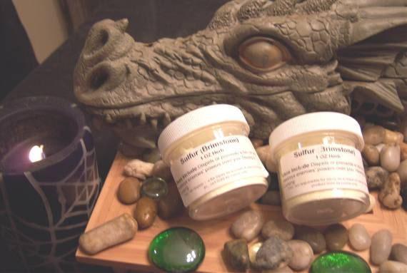 Sulfur Brimstone Herb - Prevent or Cast Hex or Curse