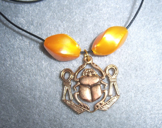 Scarab With Knots of Isis - Luck and Protection