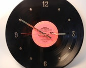 BRUCE SPRINGSTEEN Vinyl Record Wall Clock (Live 1975-1985 featuring Born To Run)
