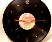 TOM PETTY Vinyl Record Wall Clock (Debut Album)