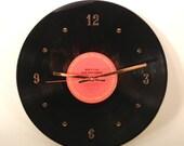 BOB DYLAN Vinyl Record Wall Clock (Slow Train Coming)