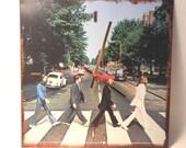 THE BEATLES CLOCK (Abbey Road)