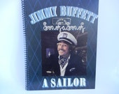 JIMMY BUFFETT Notebook Recycled Record Album Cover (Son Of A Son Of A Sailor)