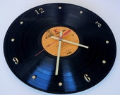NEIL YOUNG Vinyl Record Wall Clock (Harvest)