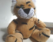 Tiny TIGER stuffed animal, 1980's