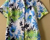 Island Wear, Women's Hawaiian Shirt, size small