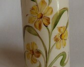 Hand Painted Ceramic Cup, Small vase