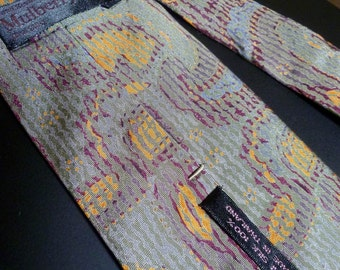 Vintage Thai Silk Men's Tie