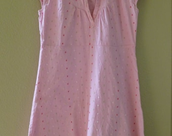 Sweet COTTON dress for Summer, capped sleeves