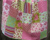 Large Farmers Market Spring Patchwork Quilt