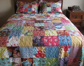 SaLe Full Bed Quilt and Shams LouLouThi READY TO SHIP