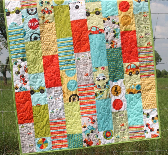 Peak Hour Baby Boy Quilt Black Friday Etsy Cyber Monday Etsy