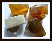 Organic Botanical Pet Soap//Natural Skin Conditioning//Set of 4 bars
