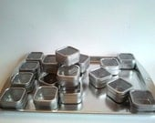 50 Magnetic Window Top Spice Tins