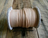 10m x 1mm Natural Waxed Cotton Cord