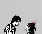 Eternal Sunshine of the Spotless Mind A2 Giclee Print