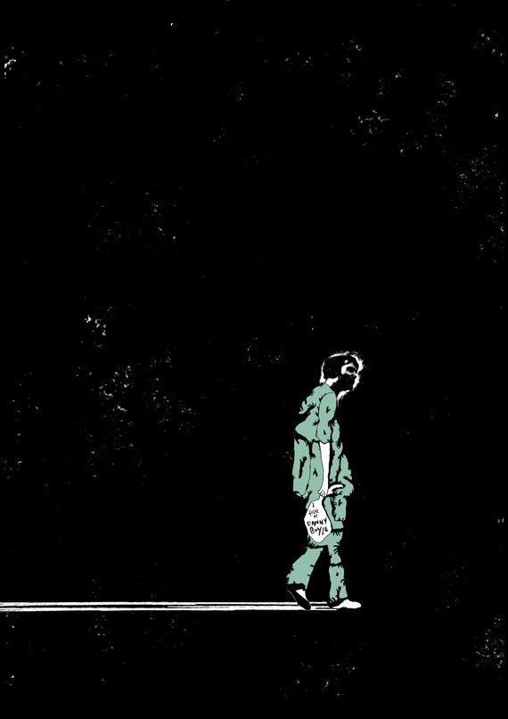 28 Days Later Film Poster DUTCH TILTS EXHIBITION
