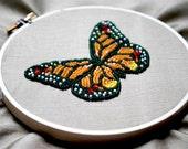Beaded Monarch Butterfly