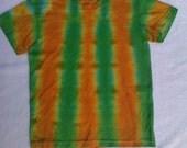 PIF Citrus Stripe - Kid's Size 3 Tie Dyed Shirt