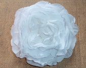 NEW ITEM - Silk Flower - Vintage Rose - Extra Large - White - Single