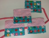 Hello Kitty Crayon Roll Set of Four