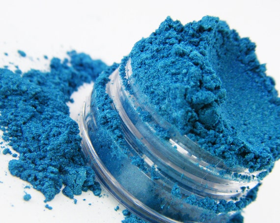 FCC Blue Rising 139 Eye Shadow All Natural Loose Pigment Mineral Eyeshadow Eyeliner Makeup