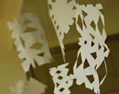 Paper Snowflakes from Utah | Winter decorations | Let it Snow | Best hand made snowflakes for Christmas cheer | White Snow | Paper Craft
