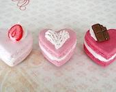 Sweetheart Macaron Magnets