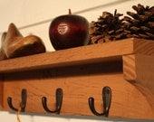 Rustic Shelf in Ochre