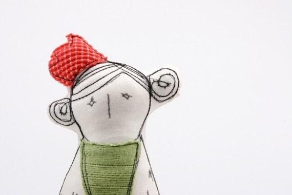 lonely princess handmade doll
