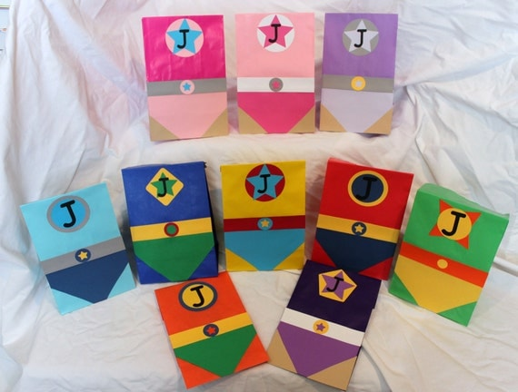 Superhero Party Favor Bags 30 Reserved For By