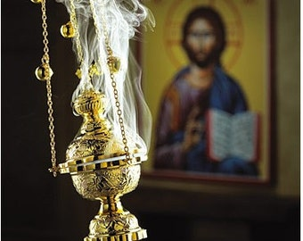 Orthodox church incense in different fragrances starting selling weight 50 gr. Hand Made in Greece