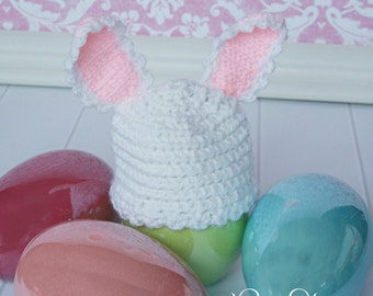 Bunny Hop Right into Spring Newborn Hat