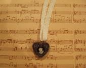 My Victorian Heart Choker