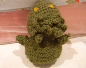 Baby Cthulhu Crochet Plush