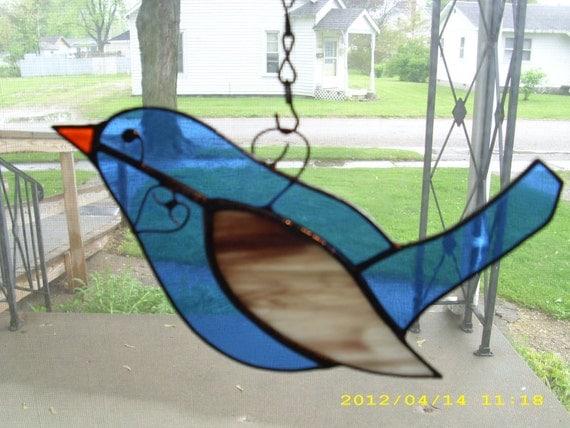 Blue Lovie Bird
