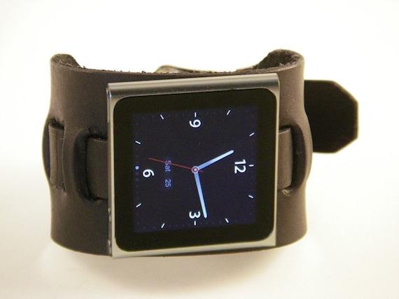Leather iPod nano Watch Band