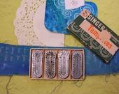 Vintage Singer Buttonhole Templates