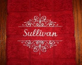 Personalized Kitchen Hand Towel