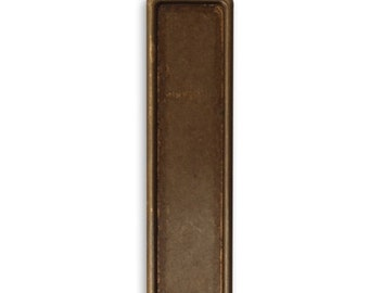 Vintaj  Brass  Rectangle Bezel, Qty 1