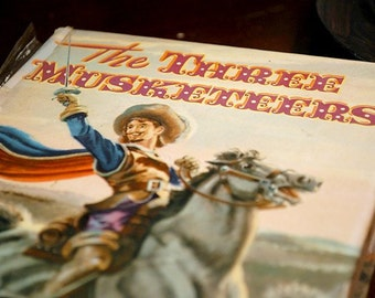 The Three Musketeers Vintage Book 1956 Great Ilustrations